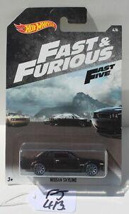 Hot wheels HW Fast & Furious Fast Five Nissan Skyline 4/6 FNQHotwheels FJ413