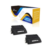 ABvolts Compatible Q5942A 2Pcs Toner Cartridge For HP LaserJet 4240 4240n 4250