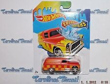 2017 Hot Wheels Color Shifters (red) '55 CHEVY PANEL ~ G6
