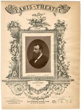 Lemercier, Paris-Théâtre, Georges-François-Léopold Menu (1845-1886), chanteur Vi