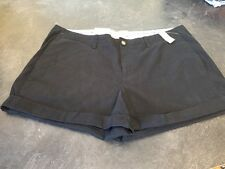 Women's Old Navy Black Chino Cute Shorts Size 16 - NWT