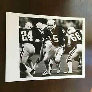 1970s Seattle PI 8X10 Press Photo Neil Lomax St. Louis Cardinals VS Seahawks NFL