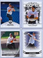 (4) JASON GROOME 2016 LEAF EXCLUSIVE DRAFT (4) CARD ROOKIE LOT! BOSTON RED SOX!
