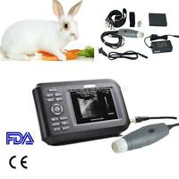 Portable Ultrasound Scanner MachineAnimal Veterinary/PET/Dog/Cat/Pig &Case FDA