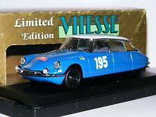 Vitesse L102 Citroen DS 19 Winner 1966 Monte Carlo Rally #195 LTD ED 1/43