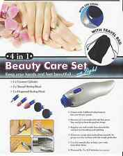 Electric Manicure Beauty Care Set Keep your hands and feet Beautiful With Light
