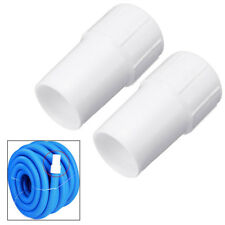2X Vacuum Hose Cuffs 1.5 inch Swimming Pool to fit Suction Hose Cleaning Cuff