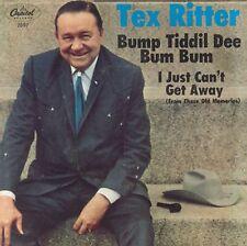 TEX RITTER - BUMP TIDDIL DEE BUM BUM - CAPITOL 45 + PICTURE SLEEVE