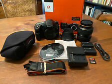 Sony a77 24.3MP DSLR kit, 16-50mm f/2.8 lens, GREAT condition, 64GB SD and MORE