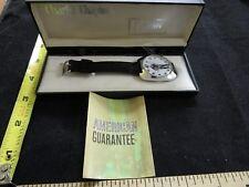 Vintage 1972 Cadeaur Charlie Chaplin Wrist Watch Leather Band with Original Box