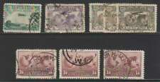 A4564: Australia Airmail Used Stamp Lot; Cv $82