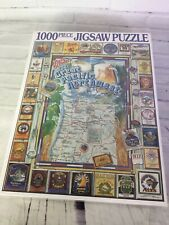White Mountain Puzzles Great Pacific Northwest Brewers 1000 Piece Jigsaw Beer