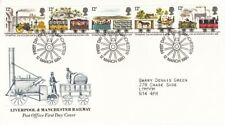 1980 Liverpool & Manchester Railway - Manchester H/S FDC.