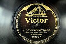 Sousa's Band - Batwing Victor 78 RPM- U/S/ Field Artillery March -   E- to E A2