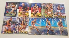 1996 AFL SELECT SERIES 2 ADELAIDE CROWS TEAM SET 10 CARDS