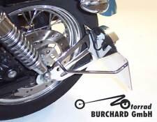Seitlicher Kennzeichenhalter Harley Davidson Sportster XL2 19 mm TÜV Teilegutach