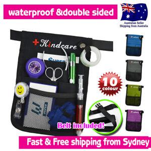 Nurses Pouch Waist Bag Extra Pocket Kindcare QUICK PICK BAG Organizer Black