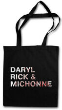 DARYL RICK & MICHONE SHOPPER SHOPPING BAG The Walking Grimes Dead Living