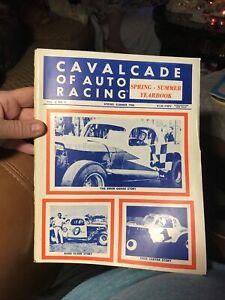 SPRING-SUMMER 1968 CAVALCADE OF AUTO RACING STOCK CAR YEARBOOK