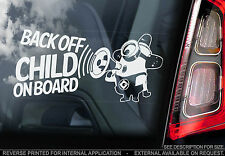 Child On Board - Car Window Sticker - Despicable Me Minion - PERSONALISE TEXT!