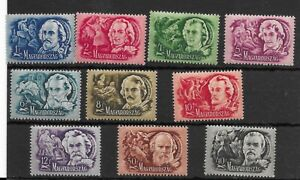 Hungary #CB3-CB12 MH - Stamp Set - CAT VALUE $6.80