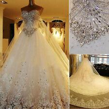 Neu A-Linie Spitze Brautkleider Brautjungfer Hochzeitskleid CocktailKleid