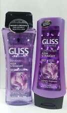 Schwarzkopf Gliss Asia Straight Shampoo & Conditioner 200ml Keratin Frizzy Hair