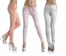 Jeans da donna slim, skinny rosa