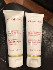 Clarins Invigorating shina shampoo And hair conditioner Set 40 Ml