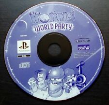 WORMS WORLD PARTY : JEU Sony PLAYSTATION PS1 PS2 (Team 17 LOOSE envoi suivi)