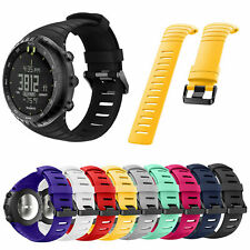 Replacement Wristband Sports Watch Band Silicone Strap for Suunto Core Bracelet