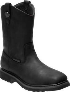 Harley-Davidson Men's Altman Waterproof Safety Toe Moto Boots D93563, D93564