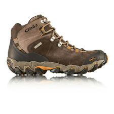 Oboz Bridger Mid Bdry Mens Brown Waterproof Outdoors Walking Boots Shoes