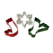 Wilton JOY cookie cutter set (3 piece) - Christmas word biscuit