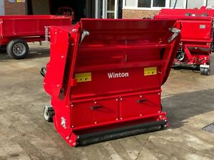 WFC120 - Winton Flail Mower & Collector - 1.2m Wide - For Compact Tractors