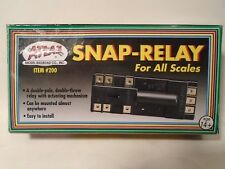 ATLAS #200 HO SNAP RELAY train electrical power switch turnout control NEW IN BX
