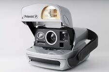 NearMint POLAROID 600 P Instant Camera SILVER MADE IN UK From JAPAN No.323