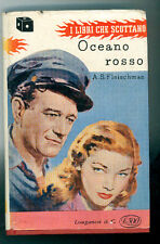 ALBERT SIDNEY FLEISHMAN  OCEANO ROSSO LONGANESI 1956 I° EDIZ. SUSPENCE 2