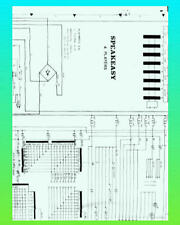 Speak Easy 1977 Playmatic Pinball Schematic