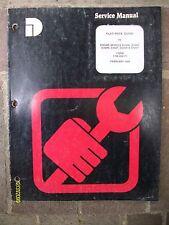 Vintage 1989 Dresser Engine D240N, D240T, D359N, D359T, D505N, D505T Manual