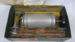 Vtg Mirro Cookie & Pastry Aluminum Press w/ 12 Discs & 3 TIPS Original Box