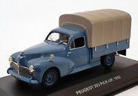 Solido 1/43 Scale S4303400 - 1952 Peugeot 203 Pick Up Truck - Blue