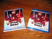 Star Wars: The Last Jedi (Blu-ray + DVD + Digital ) Multi-Screen ED.] New; Rare*