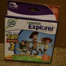 New Leap Frog Leapster Leap Pad Explorer Game Disney Toy Story 3 4-7 Yrs Case