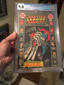 Justice League #101 CGC 9.8 White Pages!  Justice Society! 7 Soldiers Of Victory