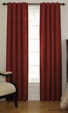 """Sound Asleep Room-Darkening Noise-Reducing Backtab Window Panel, Sangria, 95"""""""