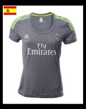 100% ORIGINAL: ★★ CAMISETA REAL MADRID GRIS - MUJER TALLA M ★★ OFERTA CHOLLO