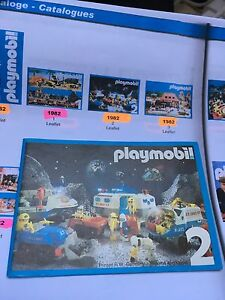 RARE Catalogue Katalog PLAYMOBIL 1982 Numero 2 !!