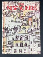 COVER ONLY ~ The New Yorker Magazine, November 21, 1977 ~ Andre Francois