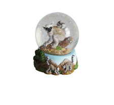 Official Ravensden Snow Globe - 8cm - Ring Tailed Lemur - NEW - Collectable